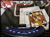Casinoverhuur Blackjack tafel met decor